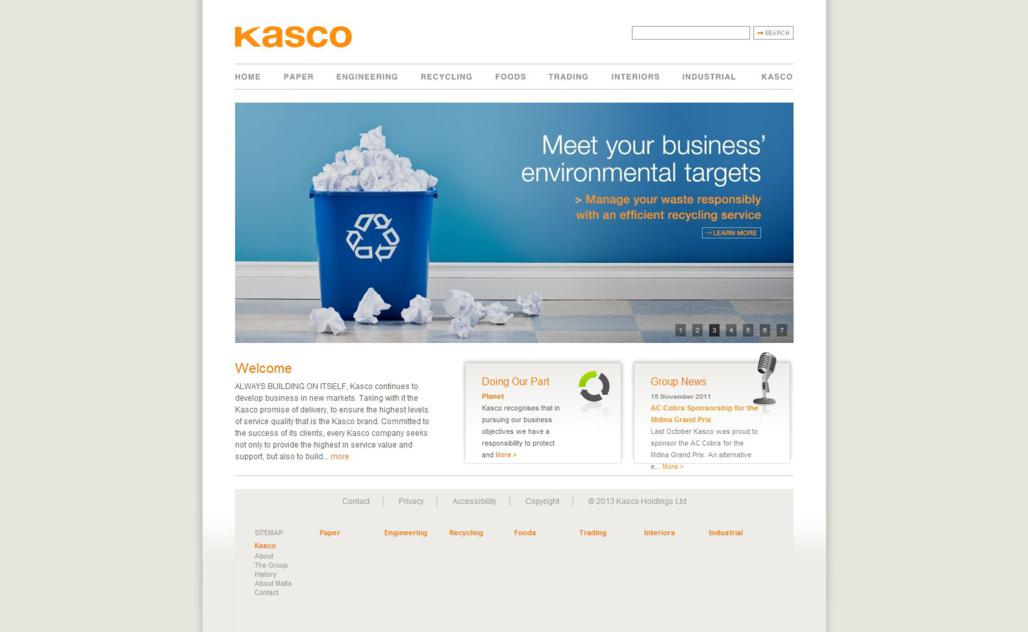Kasco Group - Home Page